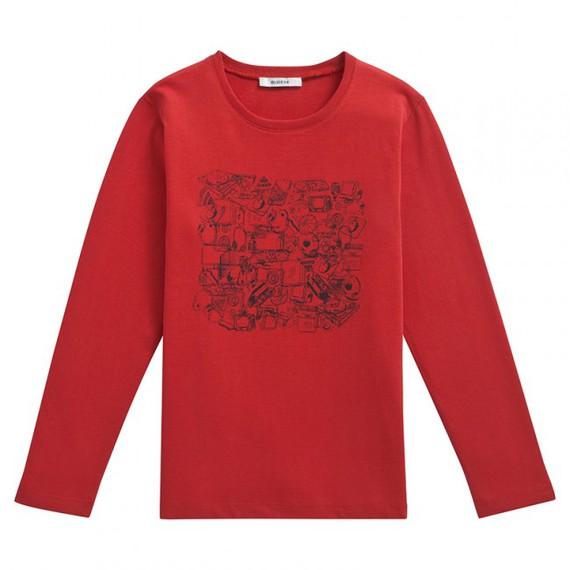 Tee-shirt ML PROMIA orange brique