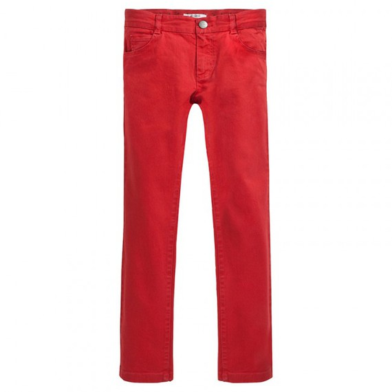 Pantalon PRETTI orange brique