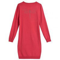 Robe tricot PLEVANIL rouge dos