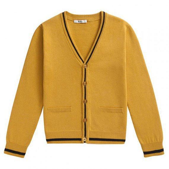 Cardigan PATATRA jaune