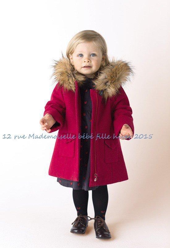 12 rue Mademoiselle bébé fille hiver 2015