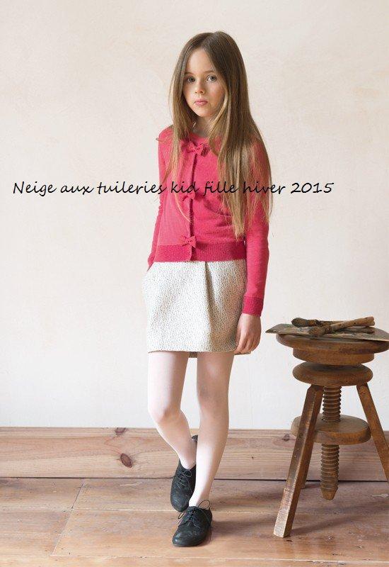 Neige aux tuileries kid fille hiver 2015