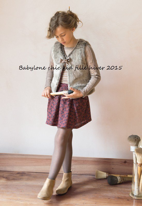Babylone chic kid fille hiver 2015