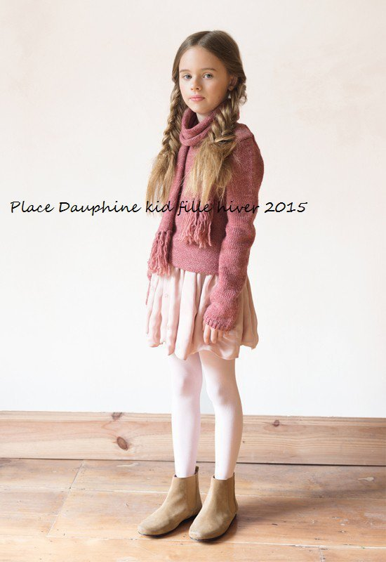Place Dauphine kid fille hiver 2015