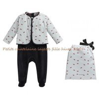 Petite chatelaine layette fille hiver 2015