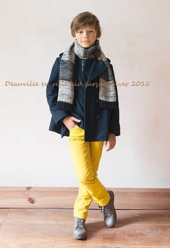 Deauville en ville kid garçon hiver 2015
