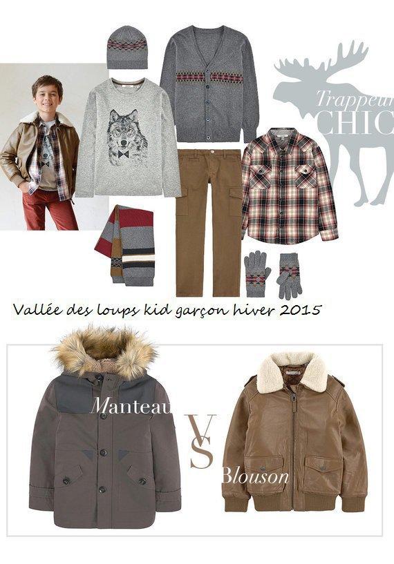 Vallée des loups kid garçon hiver 2015