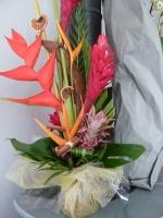 composition florale epices