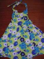 Robe dos-nu Taille 4  ans (102cms)