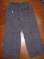 Pantalon gris vue de dos