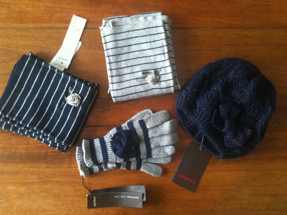 IKKS gants echarpe fille bonnet Catimini kid