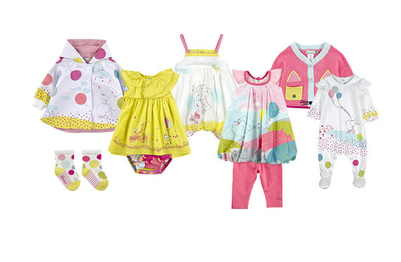 e6589e4905a0d Voyage en ballon Catimini - Collection catimini printemps ete 2015 - naissance  bebe fille