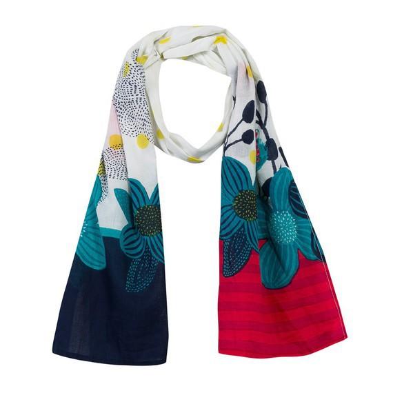 Echarpe cheich foulard catimini spirit graphic - VENDU-2-4 ANS ... 33e19f505ff