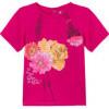 5 ANS CATIMINI TOMBOUKTOU tee-shirt fushia mascotte