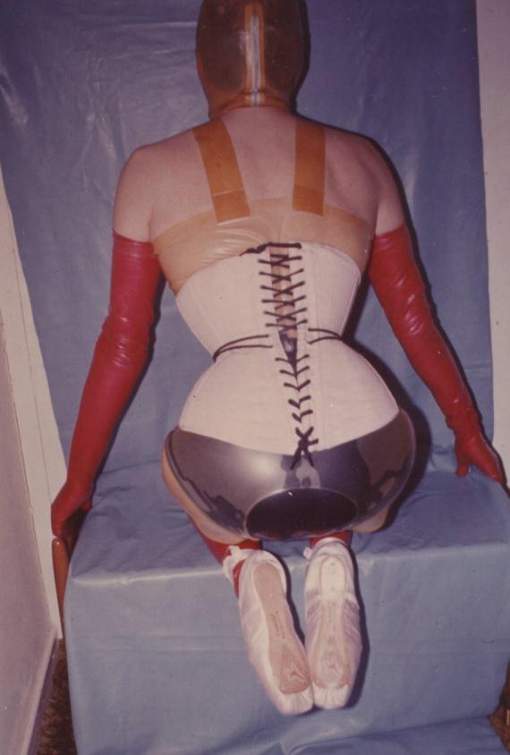 22 in corset w ballet