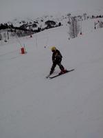 léo au ski