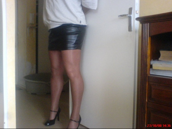 ma petite jupe en vinyle