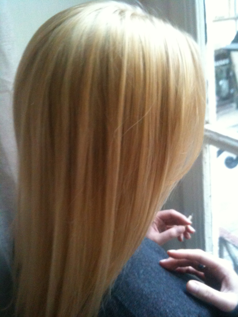 limage en grand , balayage