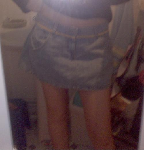 Mini jupe levi's1
