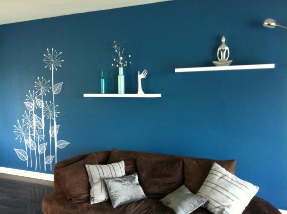 Chambre bebe bleu canard - Deco salon bleu canard ...