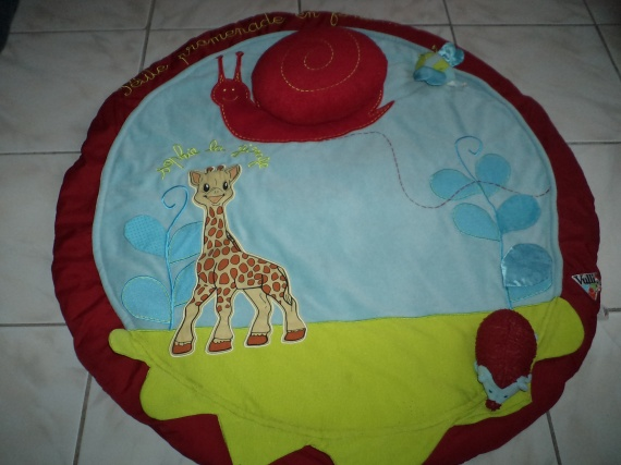 Tapis d 39 veil sophie la girafe pu riculture - Tapis d eveil gonflable sophie la girafe ...