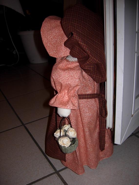 poupée sun-bonnet (cale porte) (3)