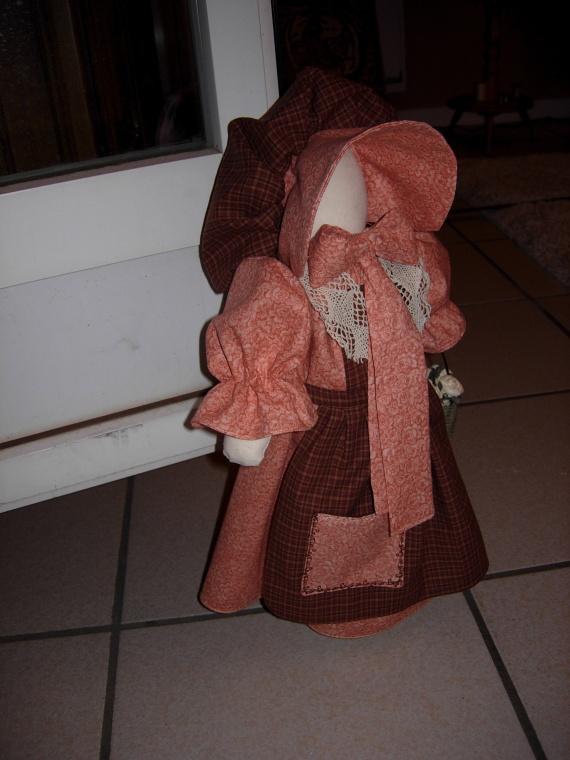 poupée sun-bonnet (cale porte) (4)