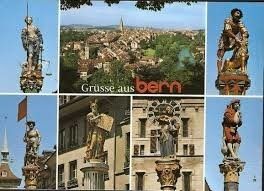 Berne 1-1 - Carte Postale