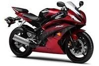 moto Yamaha rouge