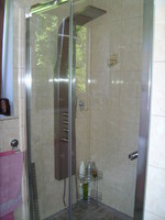 Enfin la douche à l'italienne...