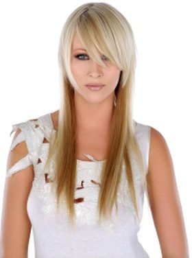 Coupe couleur meche cheveux long