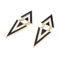 Hot-New-Fashion-Punk-Vintage-mignon-émail-géométrique-Triangle-Dangle-oreille-boucles-d-oreilles-pou