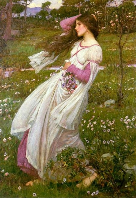 John_William_Waterhouse_Windflower