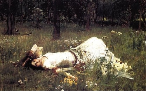 John-William-Waterhouse--Ophelia--Lying-in-the-Meadow--by-Savio-s-Vintage-Art-qpps_600571926000471_L