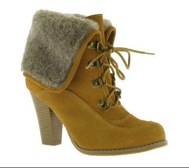 boots fourrure eram