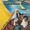 412px-August_Macke_-_Segelboot_auf_dem_Tegernsee