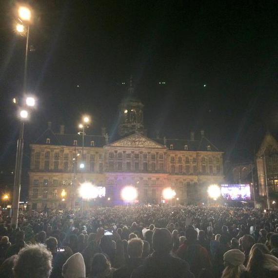 Amsterdam Rassemblement Je Suis Charlie