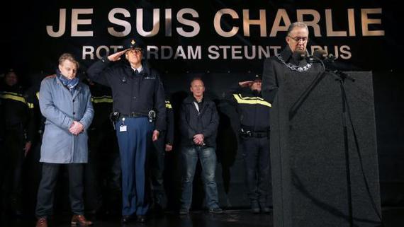 Je Suis Charlie (Ahmed Aboutaleb maire de Rotterdam)