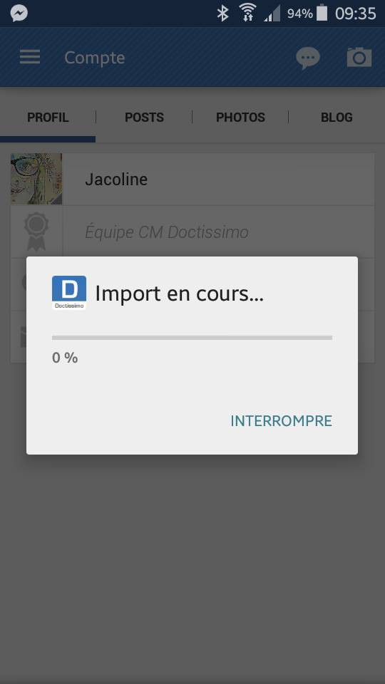importation photo