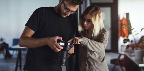 Modèles et photographes