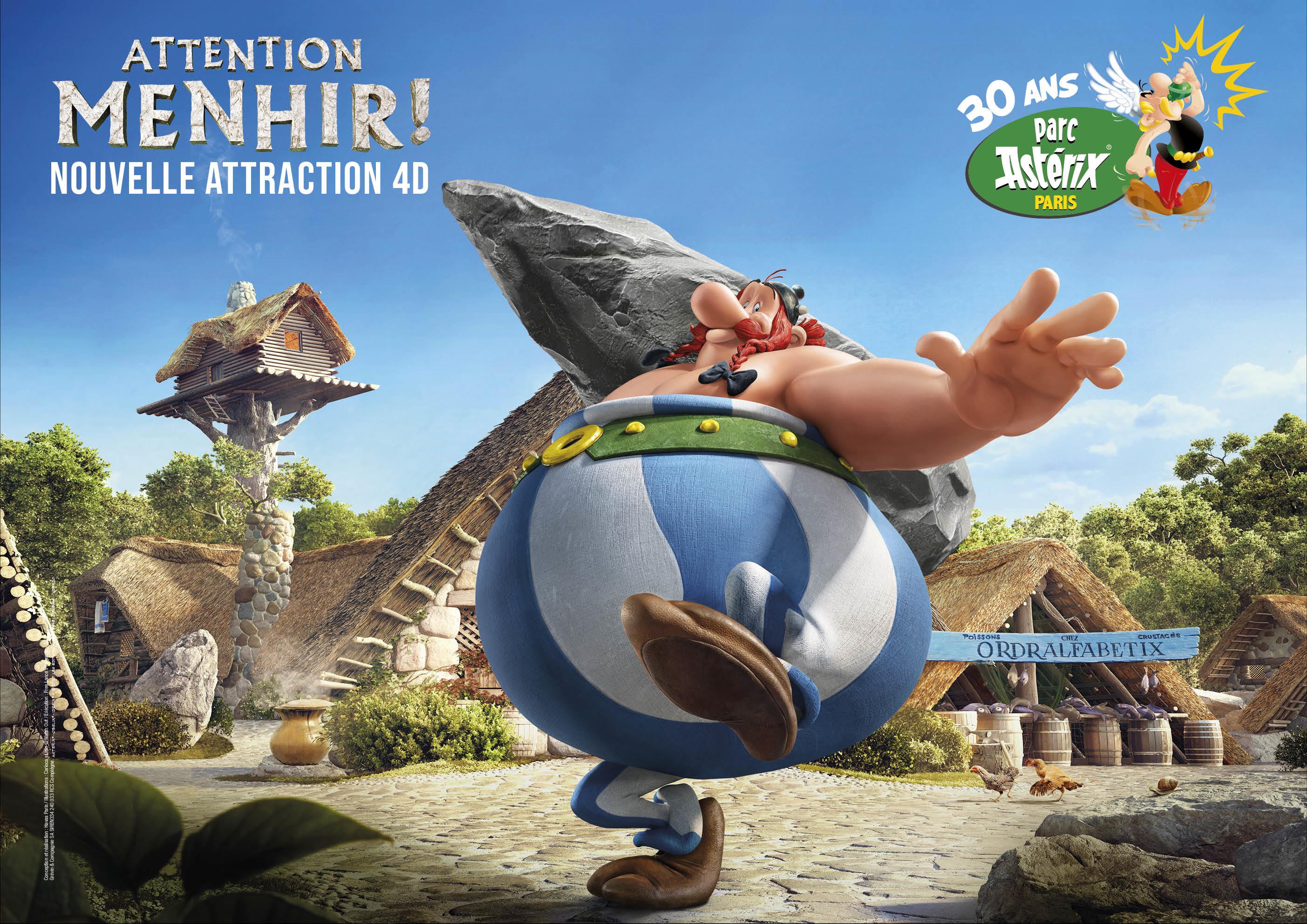 Jeu concours  : Le Parc Astérix fête ses 30 ans !