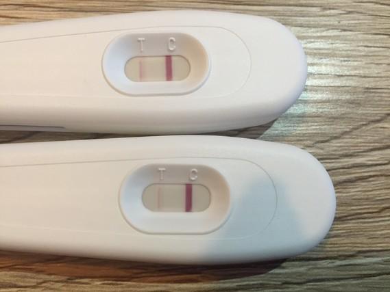 2x test de grossesse bande tr s claire positif tests et - Symptome fausse couche debut de grossesse ...