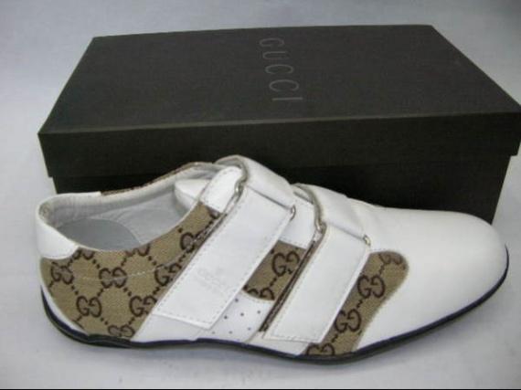 Chaussure-Gucci-Blanche
