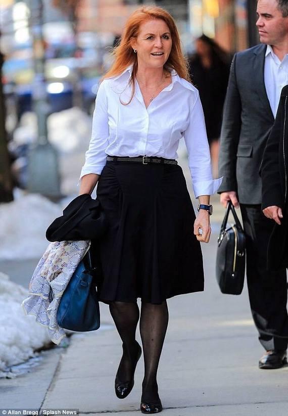 Sarah Ferguson, ex duchesse d'York, à New York