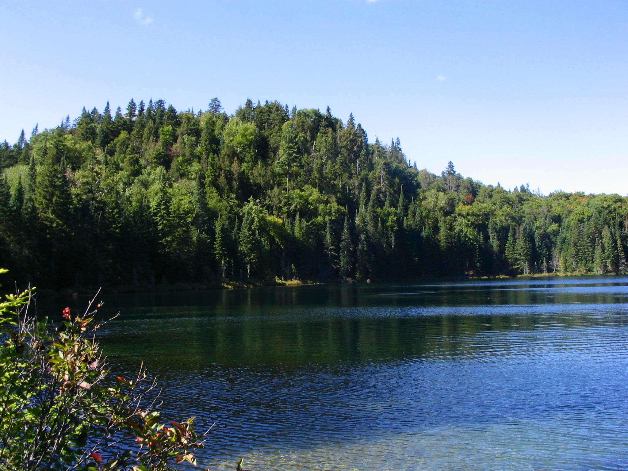 Lac lauzon mont tremblant nicoun photos club for Lac miroir mont tremblant