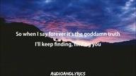 Kesha - Finding You (Lyrics)