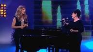 Maurane  Céline Dion Quand on a que lamour live RTL Tvi Novembre 2012 Jean Christophe Delhaye