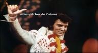 Elvis Presley Cant Help Falling In Love FR