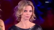 Sylvie Tellier robe en cuir noire (MoneyDrop)