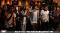 One direction - What Makes You Beautiful (live NRJ) - YouTube